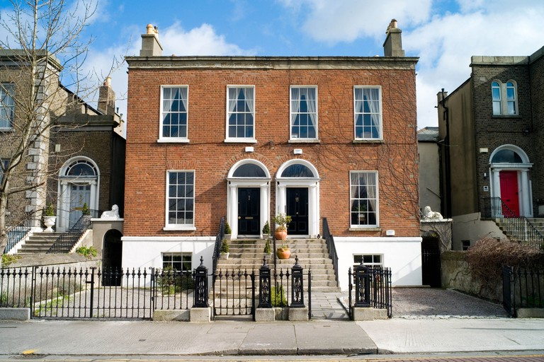 Admire Georgian architecture in Rathmines