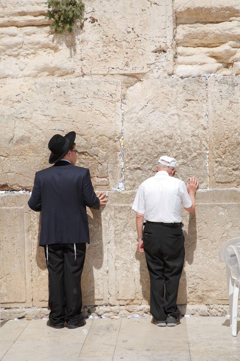 Western Wall, Jerusalem, Israel.