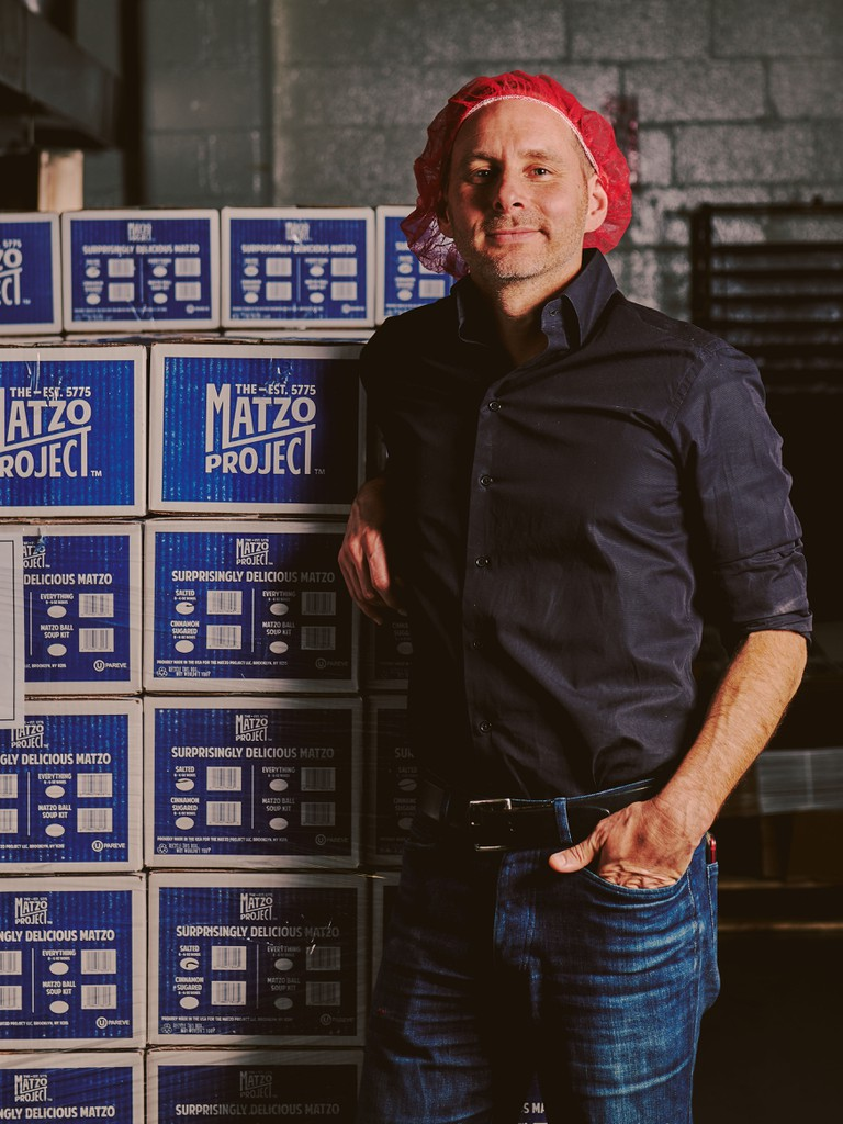 Co-founder Kevin Rodriguez toiled over matzo for weeks, trying to perfect the recipe
