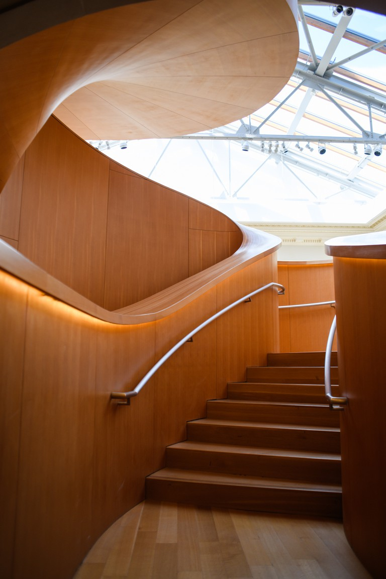 Gehry's staircase opened to the public in December 2008