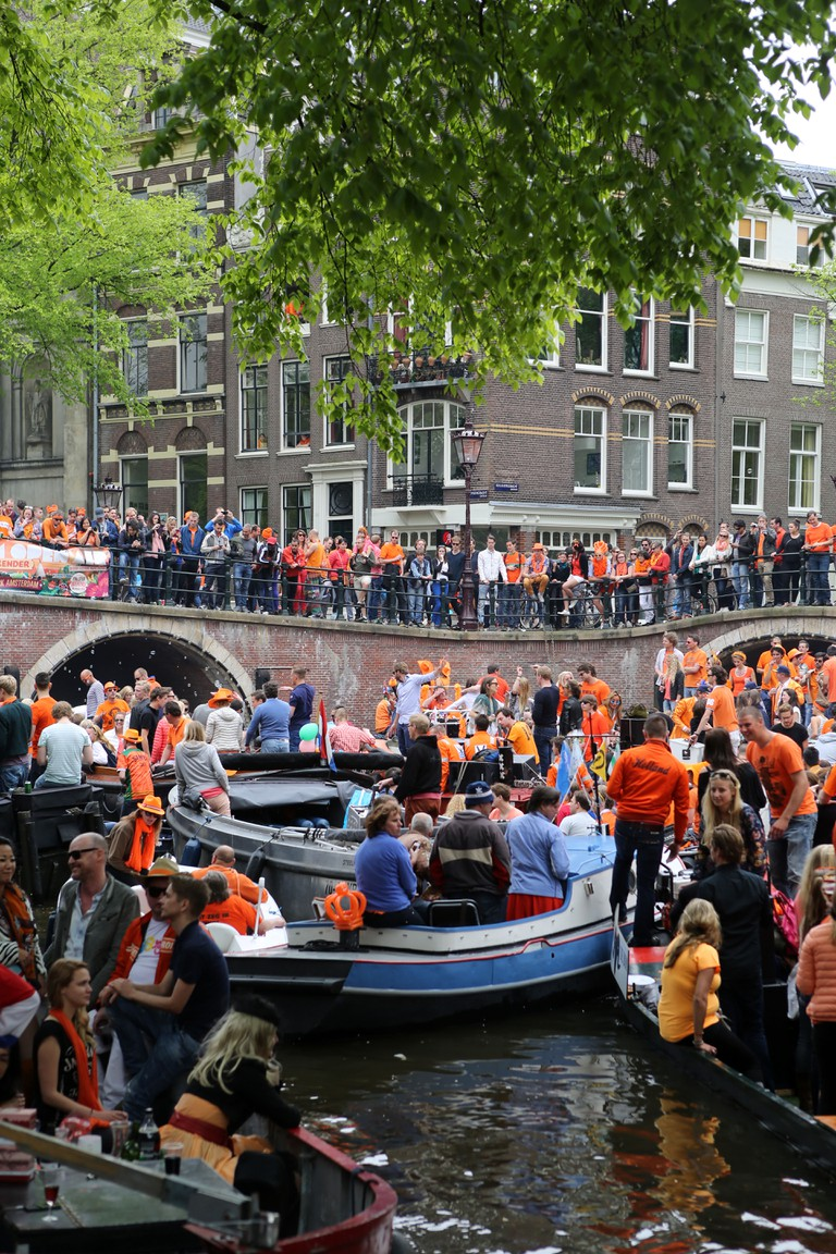 King's day, Amsterdam.