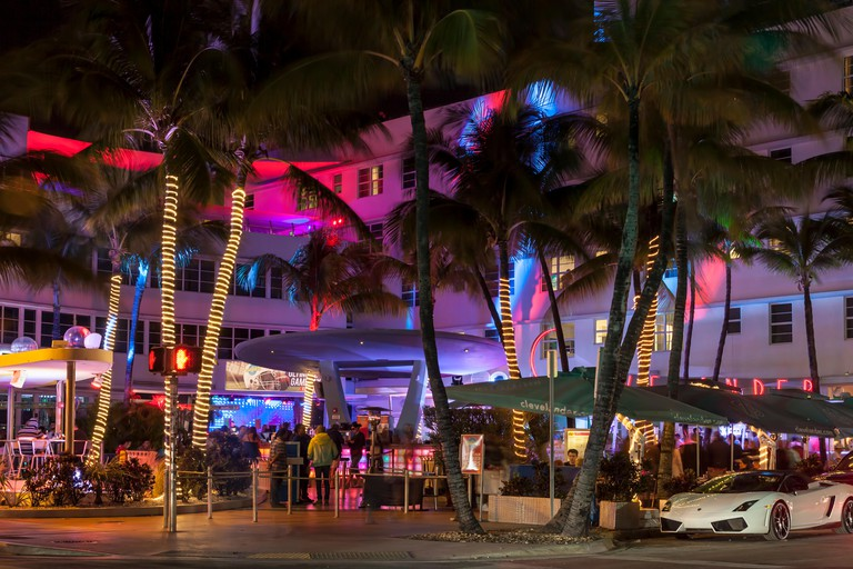 Clevelander Hotel and Nightclub, South Beach Miami.