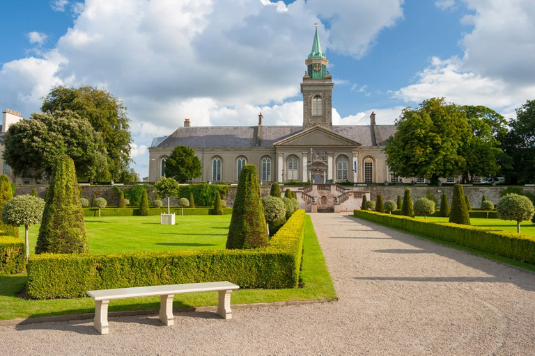 Park in The Irish Museum of Modern Art in Dublin