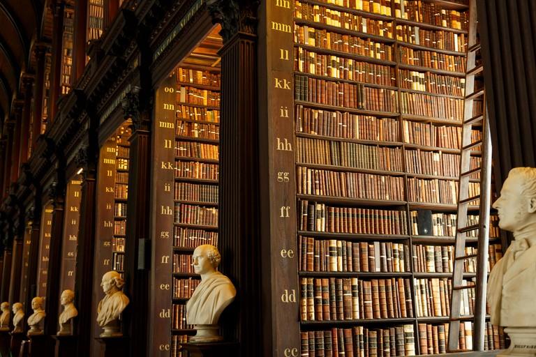 Trinity college library, Dublin, Ireland.