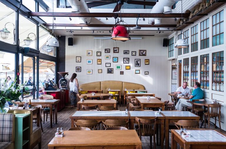 Restaurant in Tel Aviv Port neighbourhood