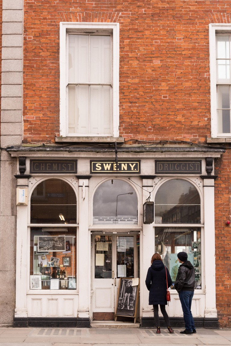 Sweny's, the Dublin pharmacy which is now a museum