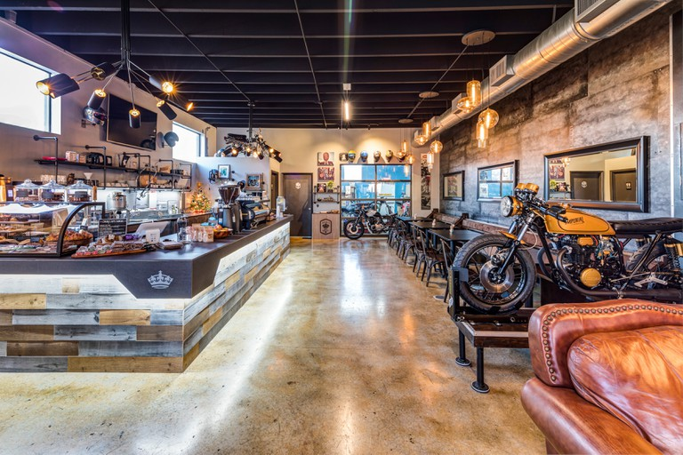 Imperial Moto Cafe, Miami, Florida, USA.