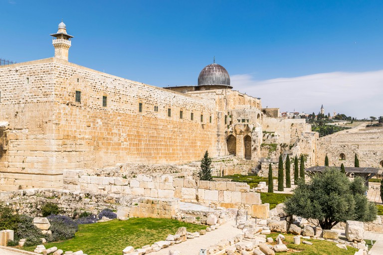 Jerusalem temple - David's city
