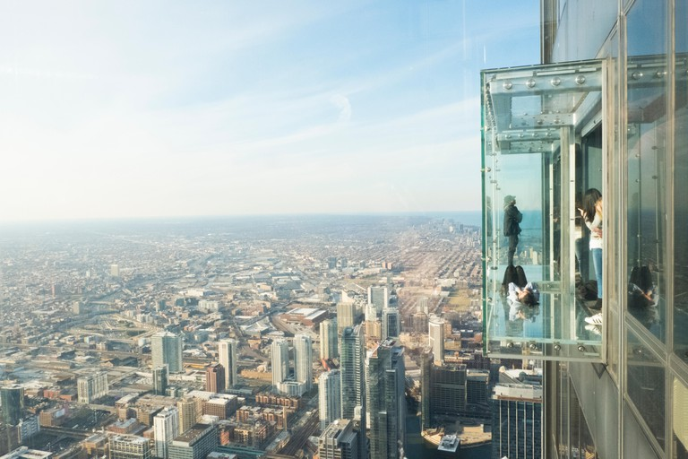 Skydeck, Willis Tower, Chicago, USA