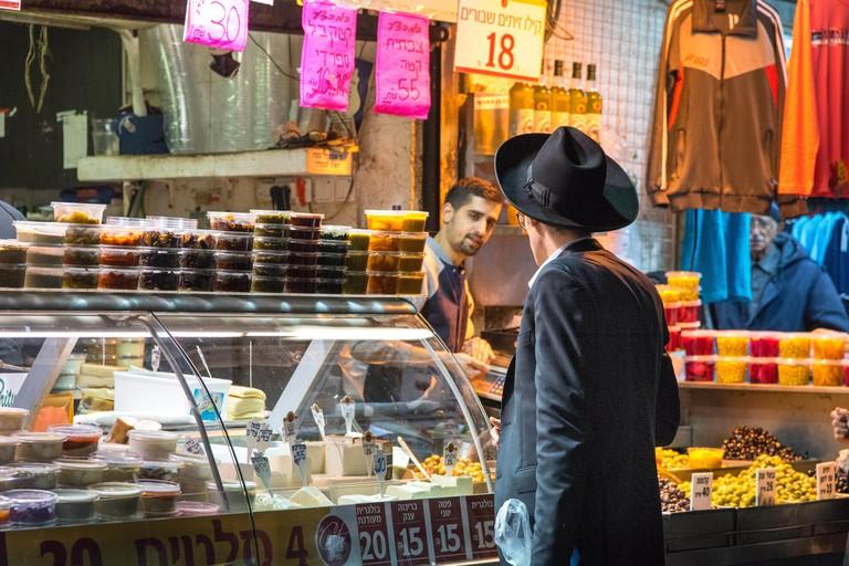 Market scenss at the Shuk, Machane Yehuda, Jerusalem