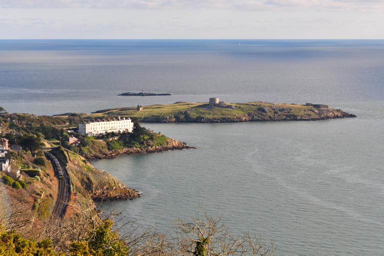 Get up close to the wild beauty of Dublin's coast by visiting Dalkey Island