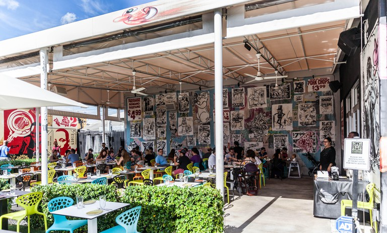 Wynwood Kitchen & Bar, Wynwood Walls, Miami.
