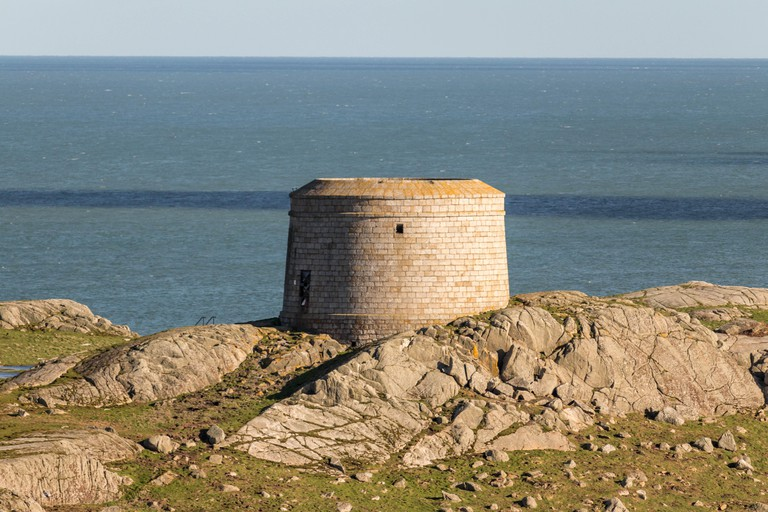 Explore Dalkey Island's Martello tower