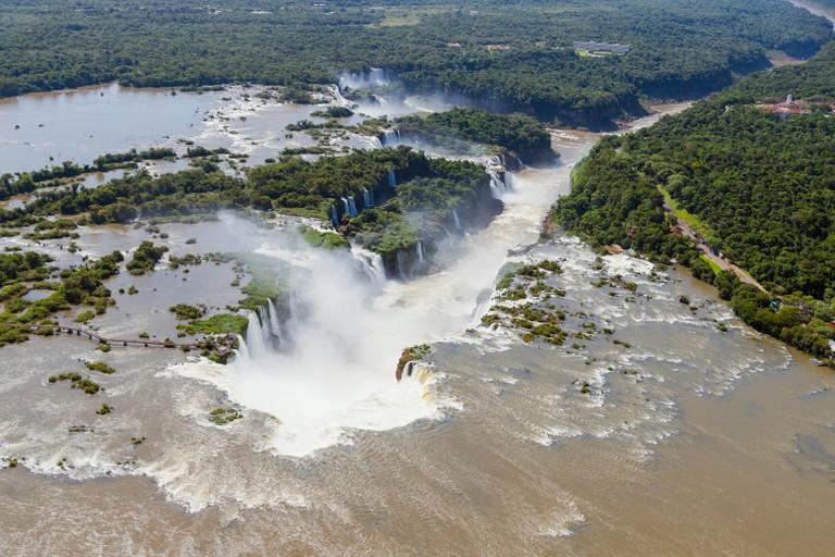 Lguacu Falls in Brazil