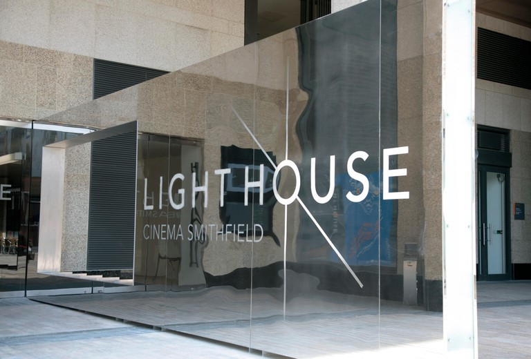 Lighthouse Cinema, Smithfield, Dublin, Ireland 2008. This new independendent cinema opened in 2008