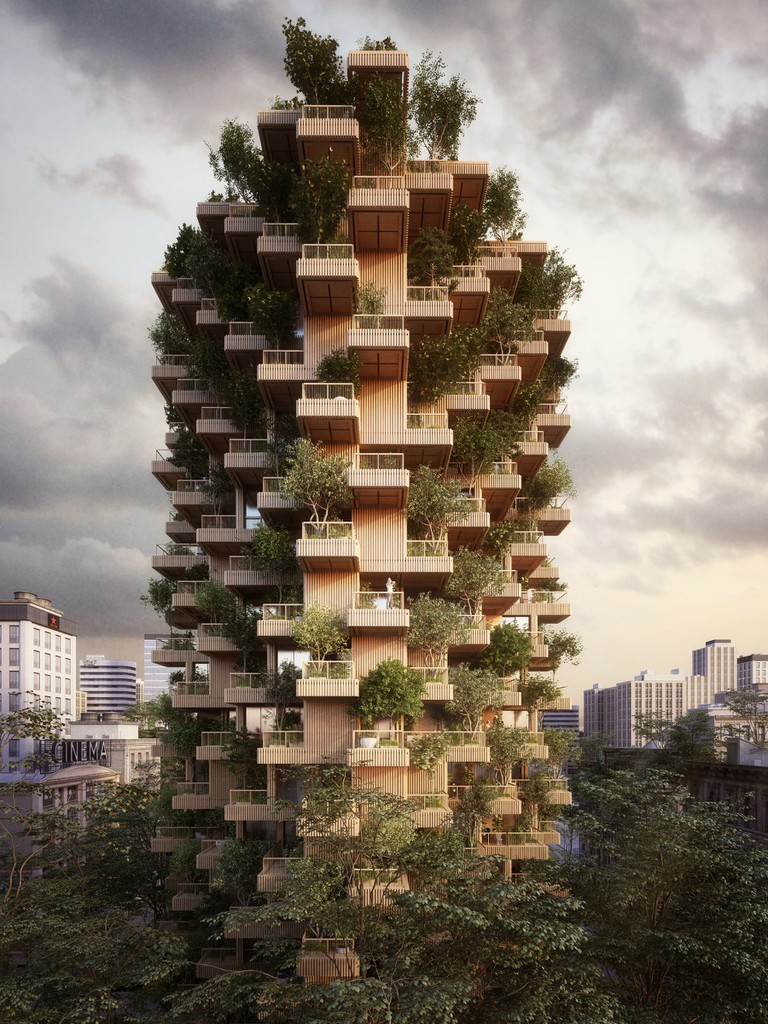 The Toronto Tree Tower aims to make its mark on the landscape