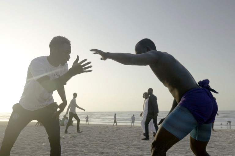 La lutte wrestling, Senegal