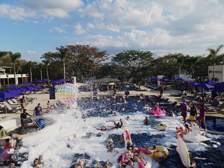Foam Pool Party