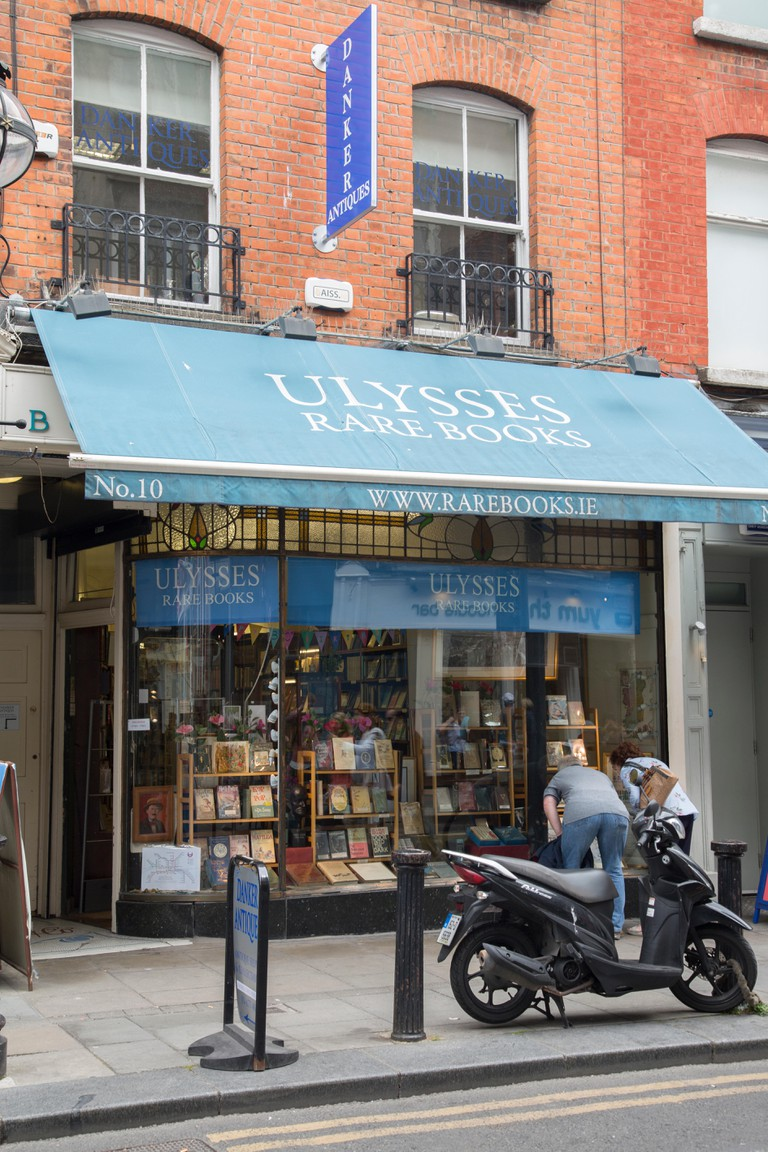 Ulysses Rare Book Shop, Dublin