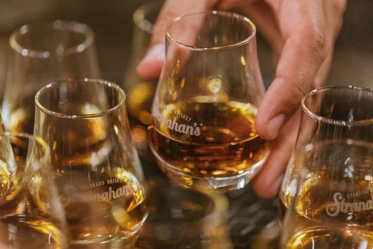 Tasting Stranahan whiskey