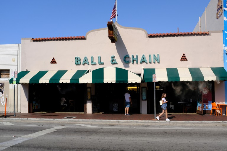 The Ball and Chain in Little Havana, Miami, Florida.