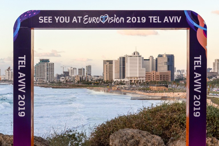 Eurovision Song Contest 2019 viewpoint in Tel Aviv