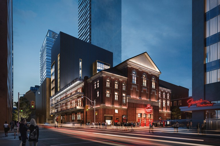 Massey Hall is currently undergoing major renovation