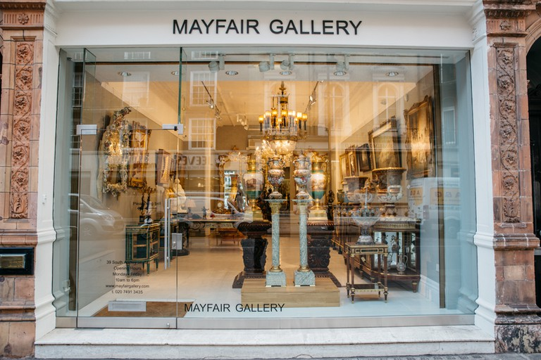 Mayfair is chock-a-block with art galleries