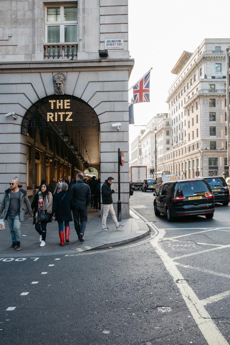 The Ritz offers a high-class afternoon tea