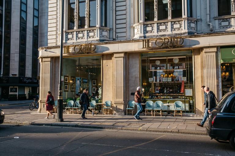 You'll find a host of upmarket restaurants in the neighbourhood