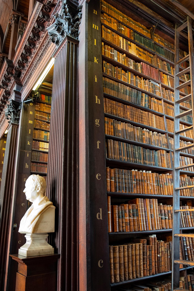 Amazing library, The Long Room, Trinity College, Dublin