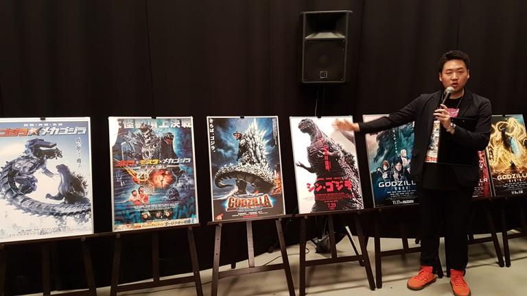 A Godzilla expert at Toho Studios