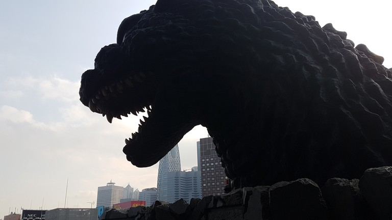 Godzilla at Hotel Gracery in Shinjuku