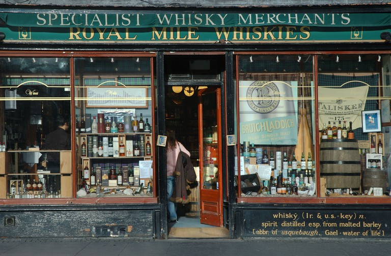 Royal Mile Whisky Shop