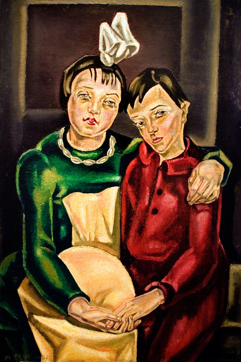 Maria Blanchard 1923  les deux orphelins