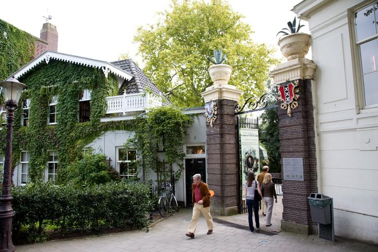 The entrance to Hortus Botanicus