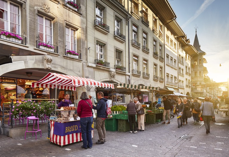 Food market in Bern