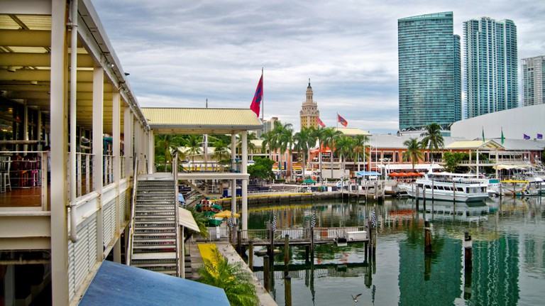 Bayside Marketplace in downtown Miami; Florida;USA;North America