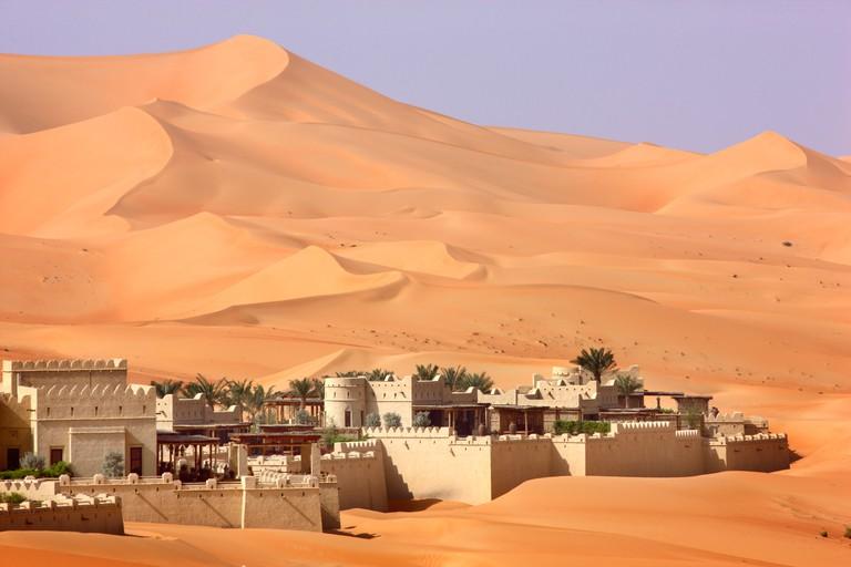 Anantara Qasr Al Sarab, luxury Desert hotel in Rub Al Khali desert