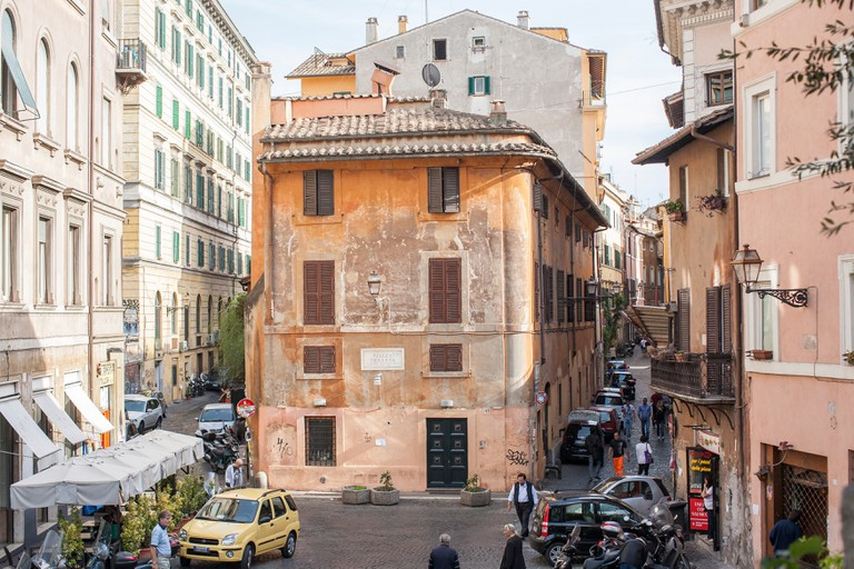 Trastevere is a city within a city