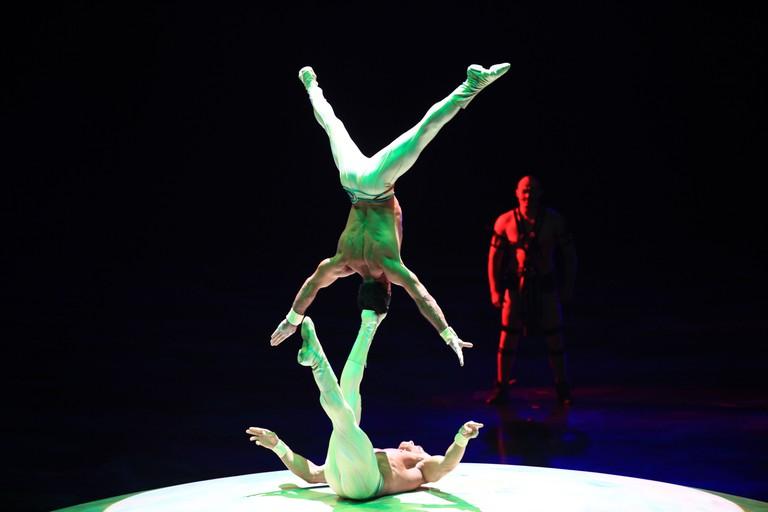 Cirque du Soleil - Mystere - performance in Las Vegas