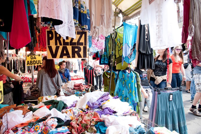 You'll find a range of wares at the Porta Portese flea market