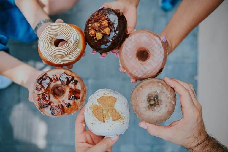 Treat yourself to a donut