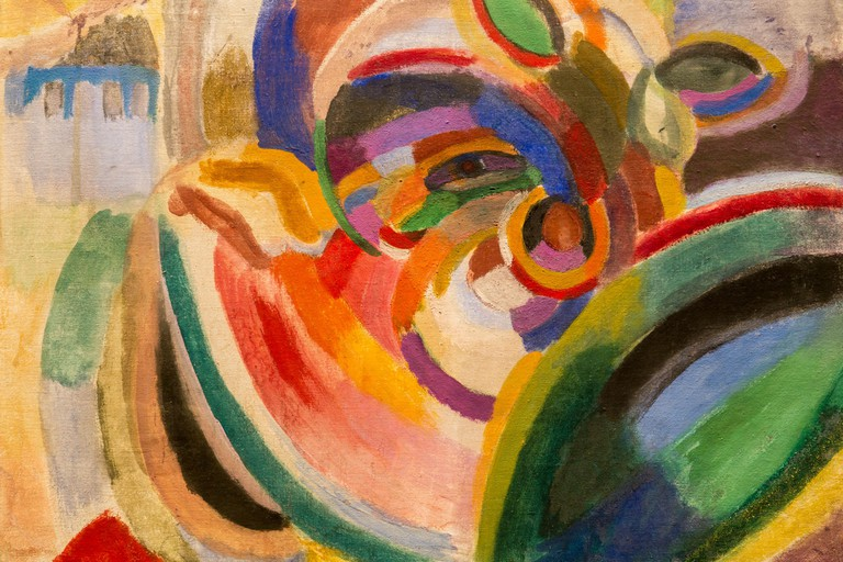 Sonia Delaunay, 'Girl With Watermelon', 1915
