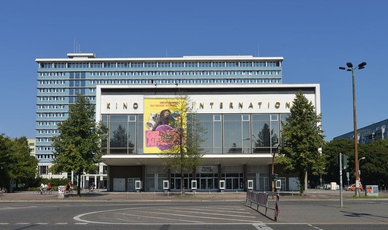 Kino International, Karl-Marx-Allee, Berlin.