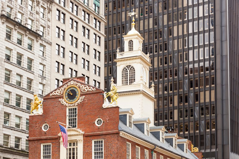 Old State House, State Street, Boston, Massachusetts, USA