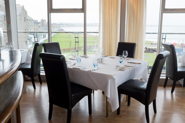 The Silver Darling Restaurant Footdee Aberdeen