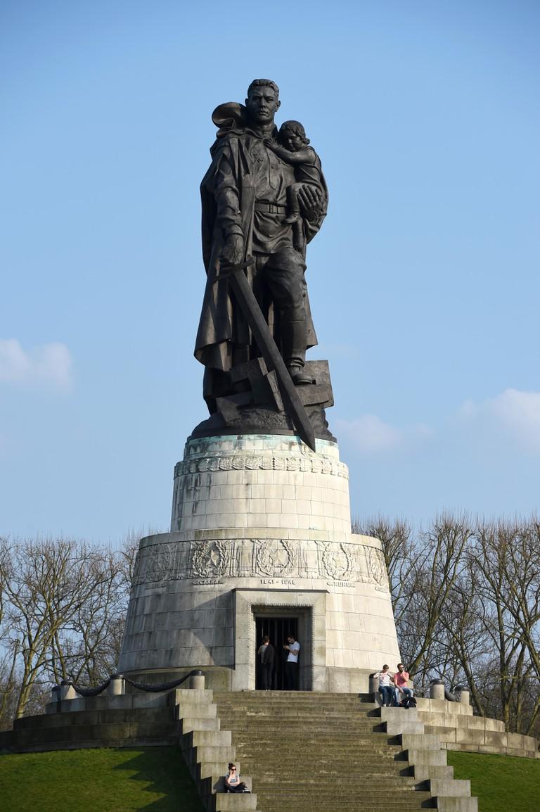 Soviet War Memorial in Treptower Park, Berlin.