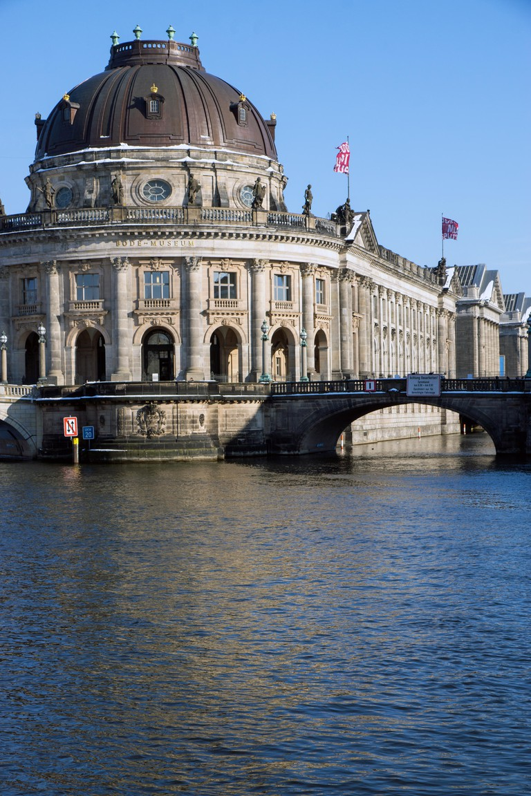 The Bodemuseum and the Pergamonmuseum in Berlin