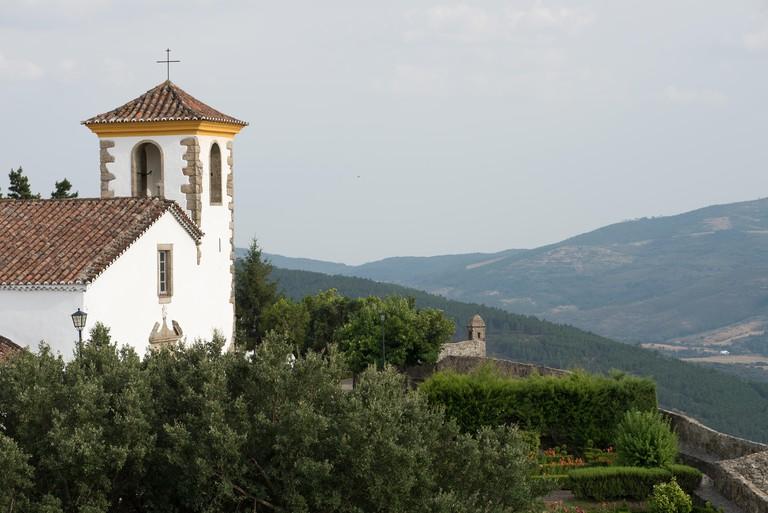 The Church of Santa Maria, Marvão, Portugal